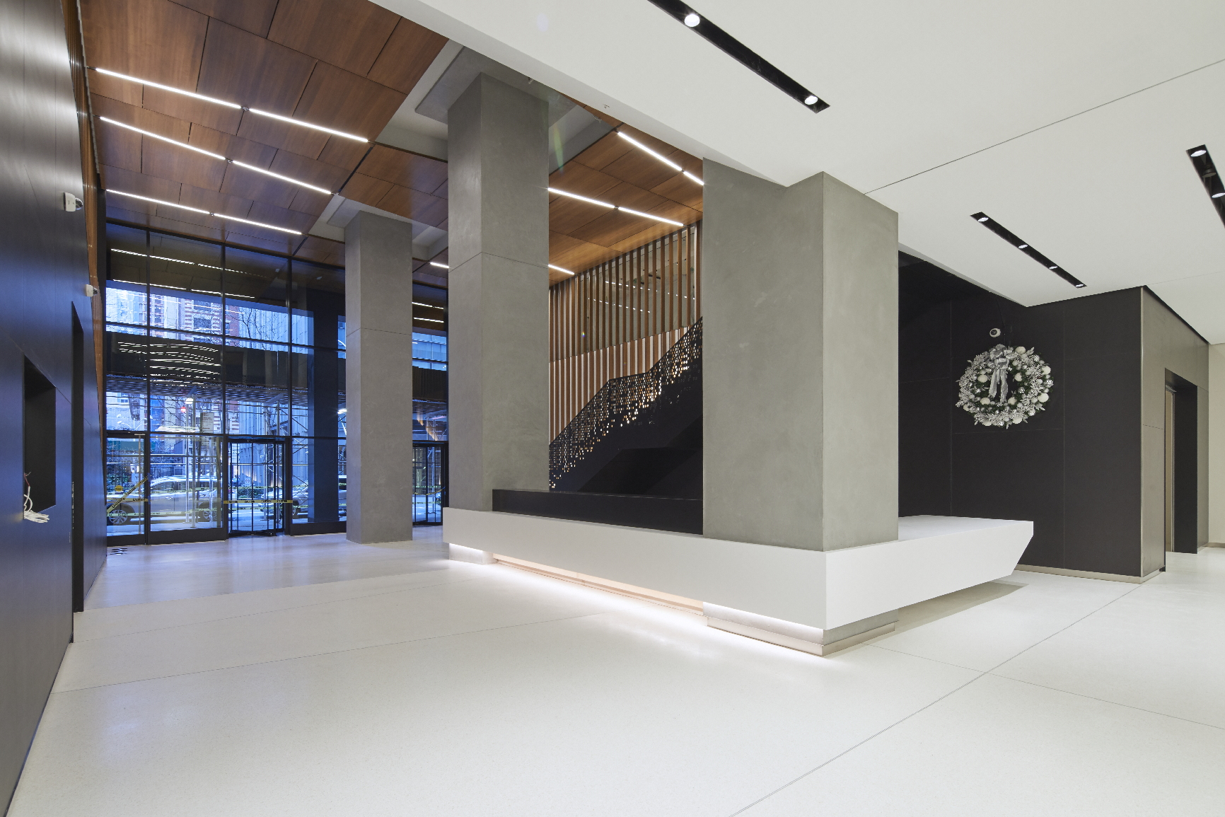 Lobby Repositioning at 135 W 50th